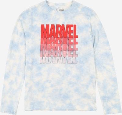 GAP Shirt in de kleur Lichtblauw / Rood / Wit, Productweergave