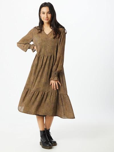 MOSS COPENHAGEN Kleid 'Ophelie Rikkelie' in braun, Modelansicht