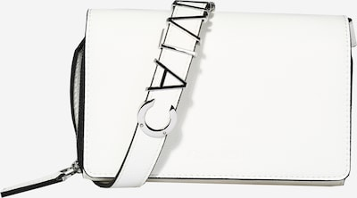 Calvin Klein Porte-monnaies 'WALLET MINI BAG' en blanc, Vue avec produit