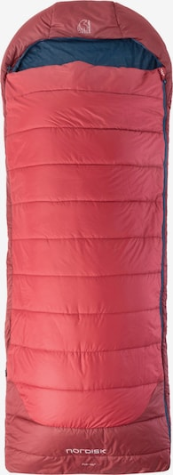 NORDISK Kunstfaserschlafsack in rot, Produktansicht