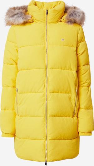 Tommy Jeans Manteau d'hiver 'Modern Puffa' en jaune, Vue avec produit