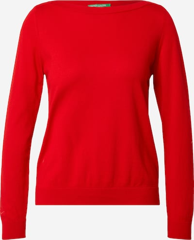 UNITED COLORS OF BENETTON Pullover in rot, Produktansicht