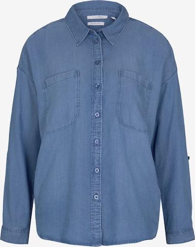 TOM TAILOR DENIM Bluse i blå, Produktvisning