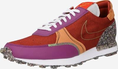 Nike Sportswear Baskets basses en gris chiné / violet / orange / rouge orangé / blanc, Vue avec produit