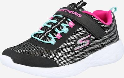 SKECHERS Sneaker 'GO RUN 600' in opal / pink / schwarz / silber, Produktansicht