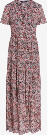 SET Letnia sukienka w kolorze ciemnozielony / ciemnoczerwony / białym, Podgląd produktu