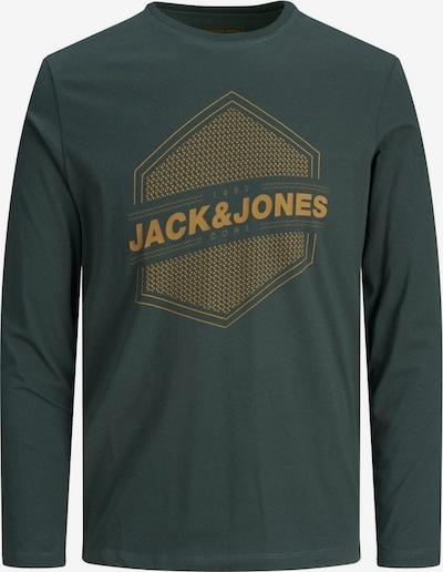 JACK & JONES Shirt in de kleur Groen / Sinaasappel: Vooraanzicht