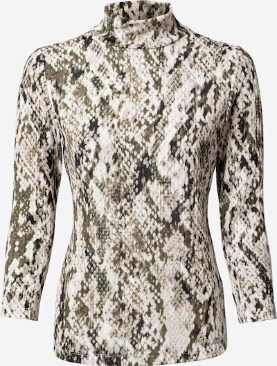 DKNY Shirt in grau / oliv / schwarz / weiß, Produktansicht