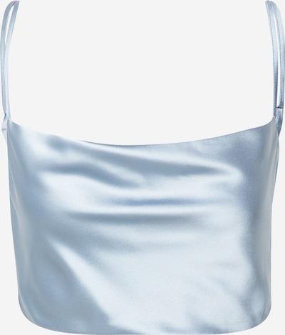 Bluză NA-KD pe albastru, Vizualizare produs