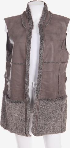 GERRY WEBER Vest in XL in Brown
