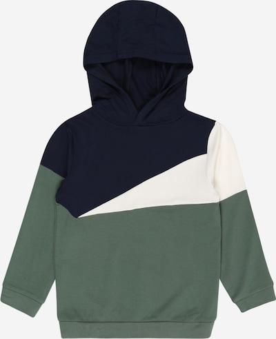 Hust & Claire Sweat 'Stinus' en bleu marine / vert clair / blanc, Vue avec produit