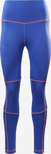 REEBOK Leggings in neonblau / feuerrot, Produktansicht