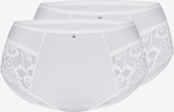 sassa Panty 'INDIAN SUMMER' 2er Pack in Weiß