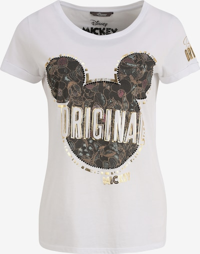 PRINCESS GOES HOLLYWOOD T-Shirt mit Mickey Print in weiß, Produktansicht