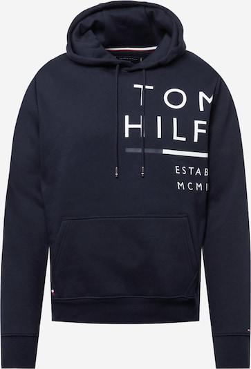 TOMMY HILFIGER Sportisks džemperis, krāsa - tumši zils / sarkans / balts, Preces skats
