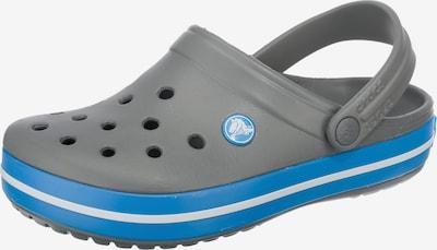 Crocs Pantolette 'Crocband' in himmelblau / stone / weiß, Produktansicht