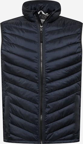TOM TAILOR Vest, värv sinine