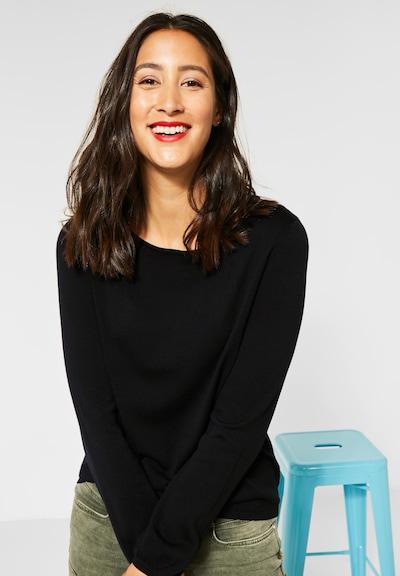 STREET ONE Pullover in schwarz, Modelansicht