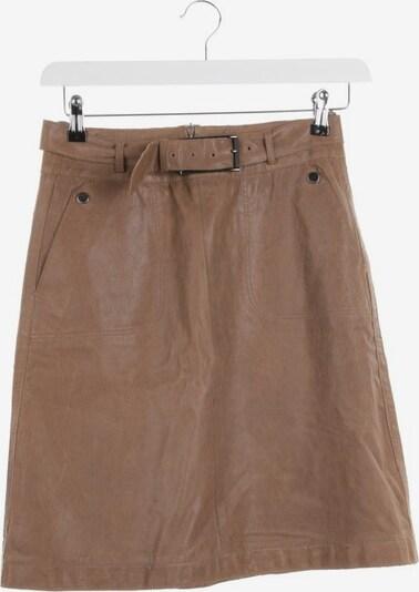 HUGO BOSS Lederrock in S in braun, Produktansicht