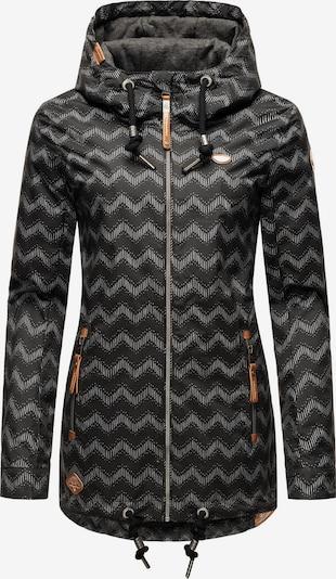 Ragwear Jacke 'Zuzka' in schwarz / weiß, Produktansicht