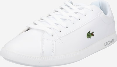 LACOSTE Låg sneaker 'GRADUATE' i vit, Produktvy