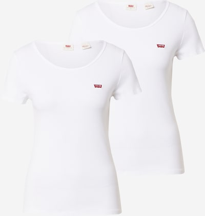 LEVI'S T-Shirt en blanc, Vue avec produit