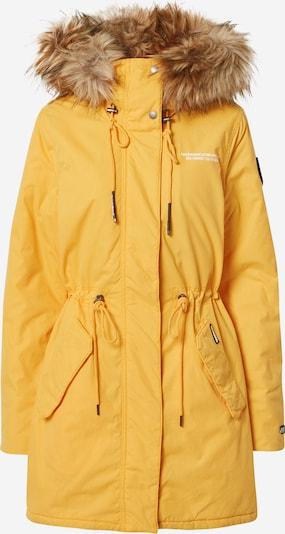 khujo Manteau d'hiver 'Kenita 4' en jaune, Vue avec produit