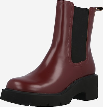 CAMPER Chelsea Boots in Red