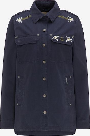 DreiMaster Vintage Jacke in marine / gelb / weiß, Produktansicht