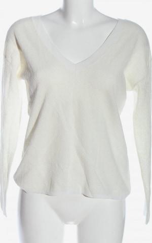 PRINCESSE tam.tam PARIS V-Ausschnitt-Pullover in M in Weiß