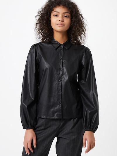 JDY Bluse 'London' in schwarz, Modelansicht