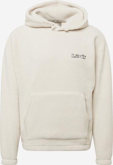 LEVI'S Sweatshirt in beige / schwarz, Produktansicht