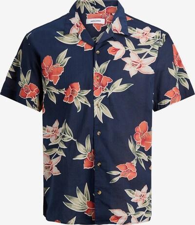 Camicia JACK & JONES di colore navy / colori misti, Visualizzazione prodotti