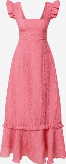 NA-KD Robe 'Frill' en rose: Vue de face