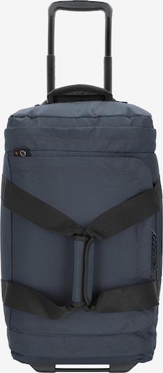 EASTPAK Reisetasche in taubenblau / schwarz, Produktansicht