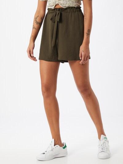 Dorothy Perkins Paperbag Shorts in khaki, Modelansicht