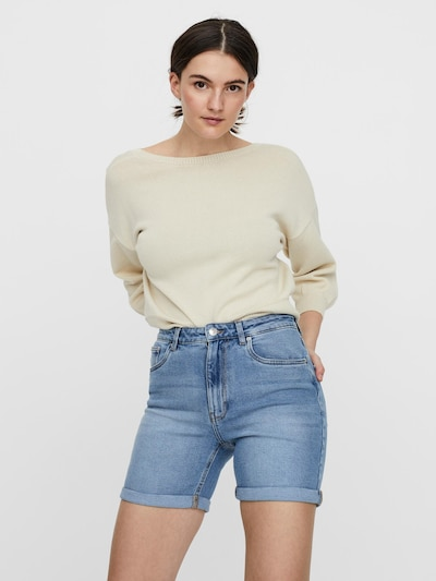 VERO MODA Shorts 'Joana' in blue denim, Modelansicht