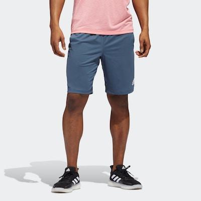 ADIDAS PERFORMANCE Sportbroek in de kleur Kobaltblauw: Vooraanzicht