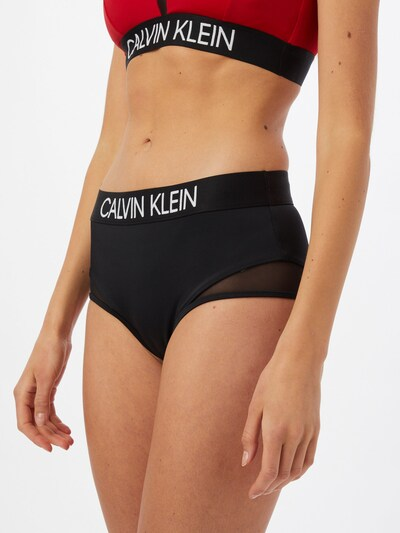 Calvin Klein Swimwear Spodní díl plavek - černá / bílá, Model/ka