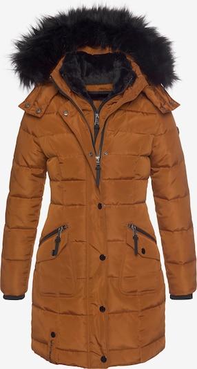 ALPENBLITZ Mantel in karamell, Produktansicht