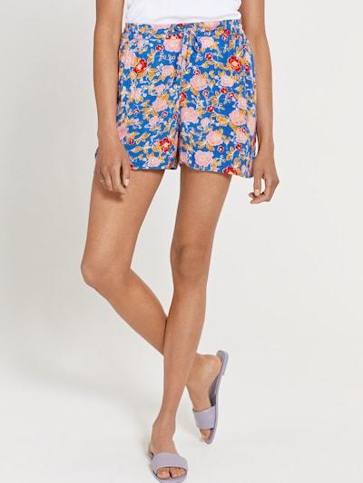 Shiwi Shorts 'ARIZONA' in blau / orange / rosa / dunkelrot / weiß, Modelansicht