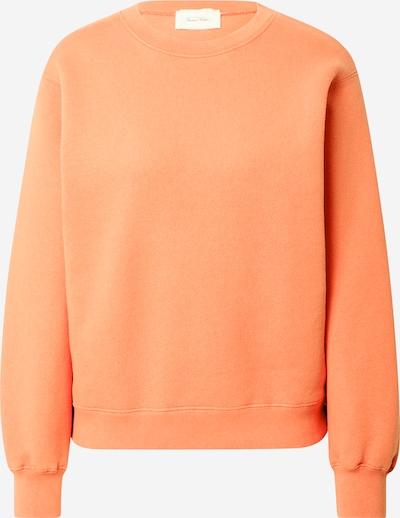 AMERICAN VINTAGE Sweat-shirt 'Ibowie' en orange, Vue avec produit