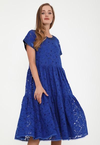 Madam-T Abendkleid 'Fatina' in blau, Modelansicht
