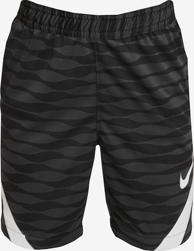 NIKE Sporthose in grau / schwarz / weiß, Produktansicht