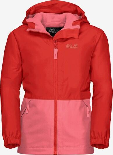 JACK WOLFSKIN Outdoorjacke in rosa / rot, Produktansicht