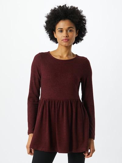 Dorothy Perkins Tunika in burgunder / pastellrot, Modelansicht