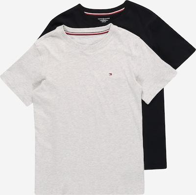 Tommy Hilfiger Underwear T-Shirt en bleu nuit / gris clair / rouge, Vue avec produit
