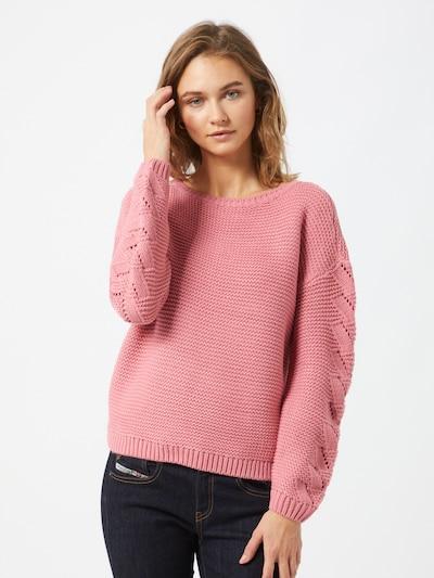 VERO MODA Pullover 'Nonamestitch' in rosa, Modelansicht