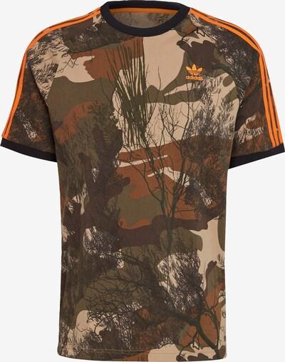 ADIDAS ORIGINALS T-Shirt in beige / mischfarben, Produktansicht