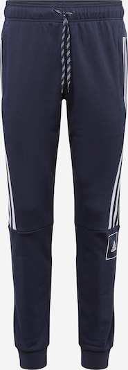 Sportinės kelnės iš ADIDAS PERFORMANCE , spalva - tamsiai mėlyna / balta, Prekių apžvalga
